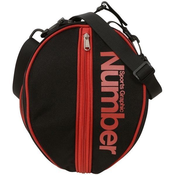 Number(ナンバー)バスケットボール ボールアクセサリー ボールケース NB-Y17-103-007 FREE ブラック/レッド