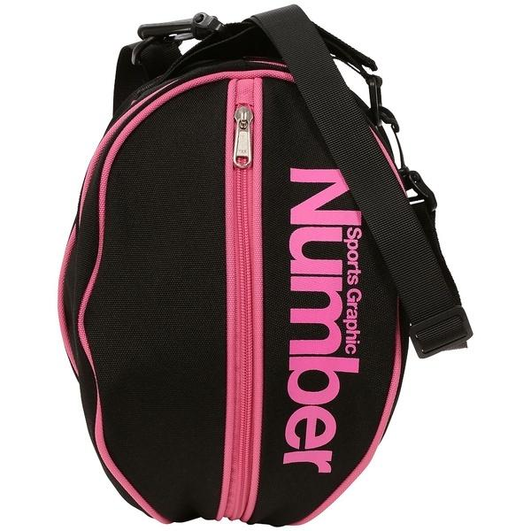Number(ナンバー)バスケットボール ボールアクセサリー ボールケース NB-Y17-103-007 FREE ブラック/ピンク
