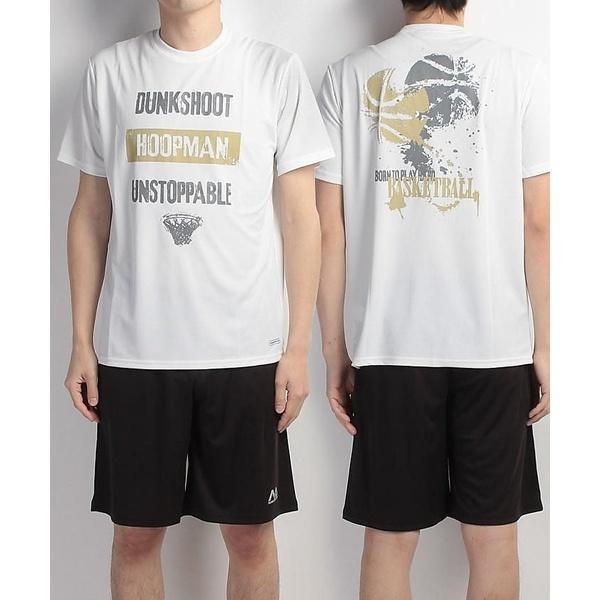 (セール)s.a.gear(エスエーギア)バスケットボール メンズ 半袖Tシャツ 半袖グラフィックTEE HOOPMAN SA-S17-103-002 メンズ ホワイト