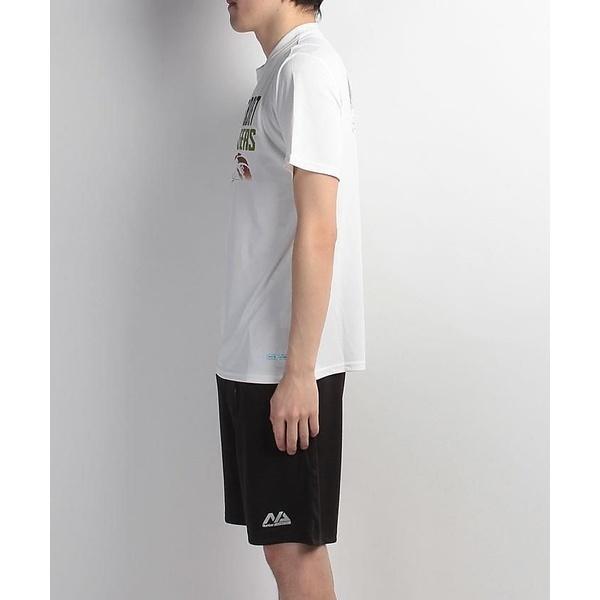 (セール)s.a.gear(エスエーギア)バスケットボール メンズ 半袖Tシャツ 半袖グラフィックTEE CAGERS SA-S17-103-004 メンズ ホワイト