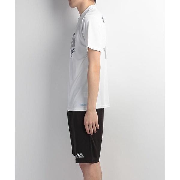 (セール)s.a.gear(エスエーギア)バスケットボール メンズ 半袖Tシャツ 半袖グラフィックTEE DUNKSHOT SA-S17-103-005 メンズ ホワイト