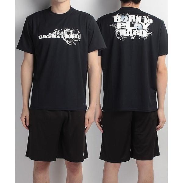 (セール)s.a.gear(エスエーギア)バスケットボール メンズ 半袖Tシャツ 半袖グラフィックTEE BORN-B SA-S17-103-006 メンズ ネイビー