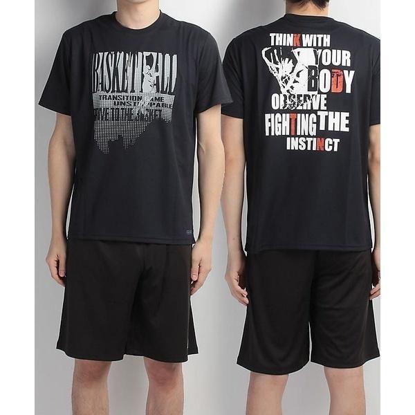 (セール)s.a.gear(エスエーギア)バスケットボール メンズ 半袖Tシャツ 半袖グラフィックTEE THINK SA-S17-103-008 メンズ ネイビー