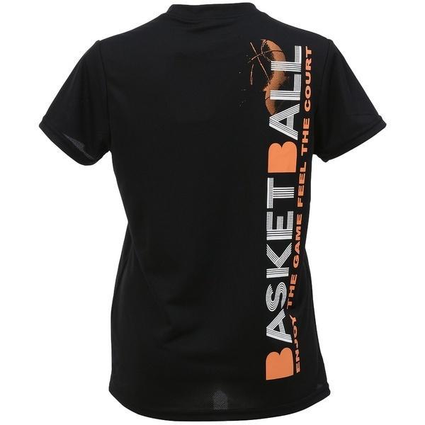 (セール)s.a.gear(エスエーギア)バスケットボール レディース 半袖Tシャツ レディース半袖グラフィックTEE BASKET SA-S17-103-012 レディース ブラック