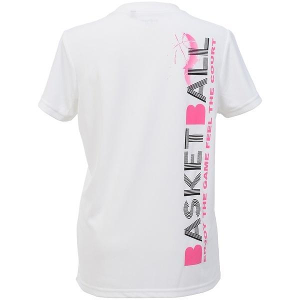 (セール)s.a.gear(エスエーギア)バスケットボール レディース 半袖Tシャツ レディース半袖グラフィックTEE BASKET SA-S17-103-012 レディース ホワイト