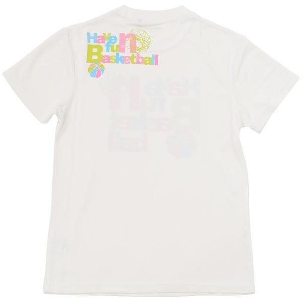 (セール)s.a.gear(エスエーギア)バスケットボール ジュニア 半袖Tシャツ ジュニア半袖グラフィックTEE HAVEFUN SA-S17-103-017 ジュニア ホワイト