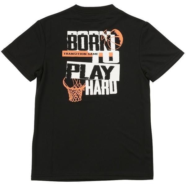 (セール)s.a.gear(エスエーギア)バスケットボール ジュニア 半袖Tシャツ ジュニア半袖グラフィックTEE HOOPMAN SA-S17-103-019 ジュニア ブラック