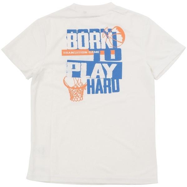 (セール)s.a.gear(エスエーギア)バスケットボール ジュニア 半袖Tシャツ ジュニア半袖グラフィックTEE HOOPMAN SA-S17-103-019 ジュニア ホワイト
