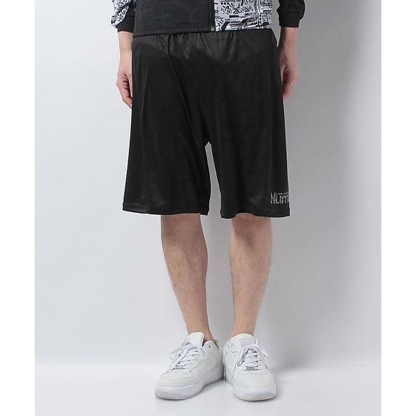 (セール)Number(ナンバー)バスケットボール メンズ プラクティスショーツ NUMBER ハーフパンツ NB-S17-103-010 メンズ ブラック