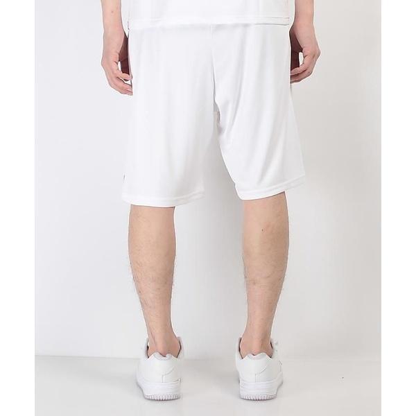 (セール)Number(ナンバー)バスケットボール メンズ プラクティスショーツ NUMBER ハーフパンツ NB-S17-103-010 メンズ ホワイト