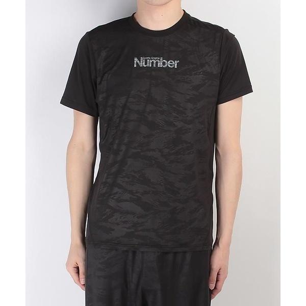 (セール)Number(ナンバー)バスケットボール メンズ 半袖Tシャツ NUMBER ロゴ半袖シャツ NB-S17-103-011 メンズ ブラック