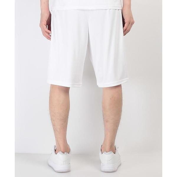 (セール)Number(ナンバー)バスケットボール メンズ プラクティスショーツ NUMBER ハーフパンツ NB-S17-103-012 メンズ ホワイト