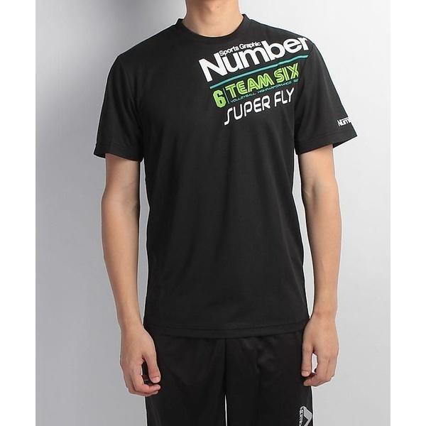(セール)Number(ナンバー)バレーボール 半袖Tシャツ デザインTEEシャツ NUMBER NB-S17-104-002 ブラック