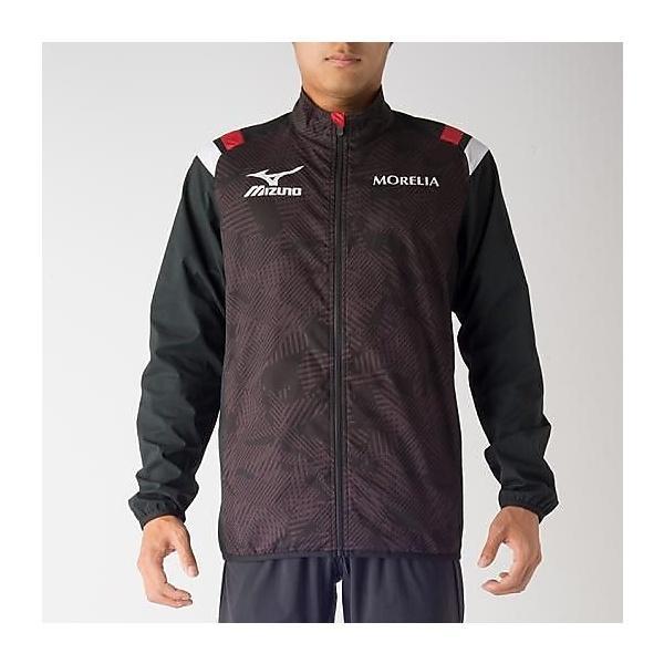 (送料無料)MIZUNO(ミズノ)サッカー ウインド MOテックベントシャツ P2MC700109 ブラック