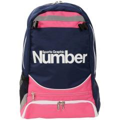 Number(ナンバー)サッカー 3層デイバック ボールバック JRバックパック NB-Y17-102-001 ジュニア FREE ピンク