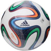 adidas(アディダス)サッカー 5号ボール ブラズーカ クラブプロ AF5831W 5 ホワイトxネイビーxオレンジ
