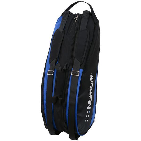 (セール)Number(ナンバー)ラケットスポーツ バッグ ケース類 9本入りラケットケース NB-Y17-201-008 ブラック/ブルー