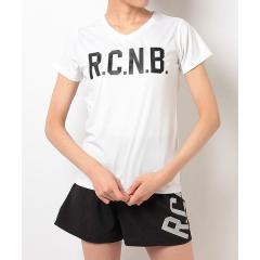 (セール)Number(ナンバー)ランニング レディース半袖Tシャツ レディース R.C.N.B. ベーシック RUN VネックTシャツ NB-S17-302-076 レディース ホワイト