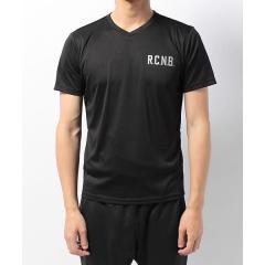 10%OFFクーポン対象商品 (セール)Number(ナンバー)ランニング メンズ半袖Tシャツ R.C.N.B. ベーシック RUN VネックTシャツ NB-S17-302-092 メンズ ブラック クーポンコード:KZUZN2T