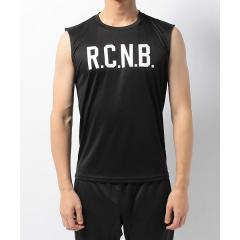 Number(ナンバー)ランニング メンズ半袖Tシャツ R.C.N.B. ベーシック RUN ノースリーブシャツ NB-S17-302-094 メンズ ブラック