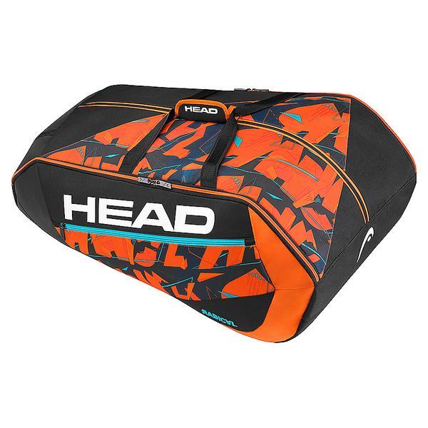 (セール)(送料無料)HEAD(ヘッド)ラケットスポーツ バッグ ケース類 RADICAL 12R MONSTERCOMBI 283167 BKOR