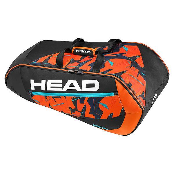 (セール)(送料無料)HEAD(ヘッド)ラケットスポーツ バッグ ケース類 RADICAL 9R SUPERCOMBI 283177 BKOR