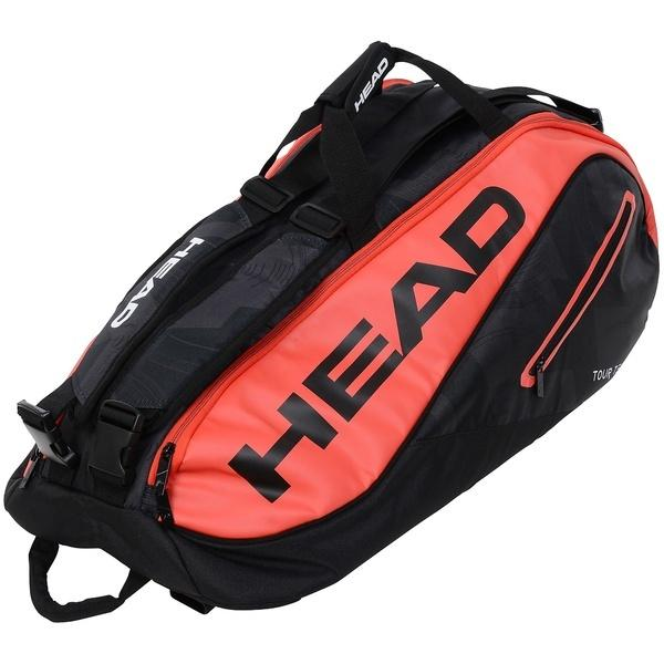 (セール)HEAD(ヘッド)ラケットスポーツ バッグ ケース類 TOUR TEAM 9R SUPERCOMBI 283447 BKRD
