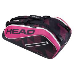 (送料無料)HEAD(ヘッド)テニス バドミントン ラケットバッグ ケース TOUR TEAM 9R SUPERCOMBI 283447 NVPK