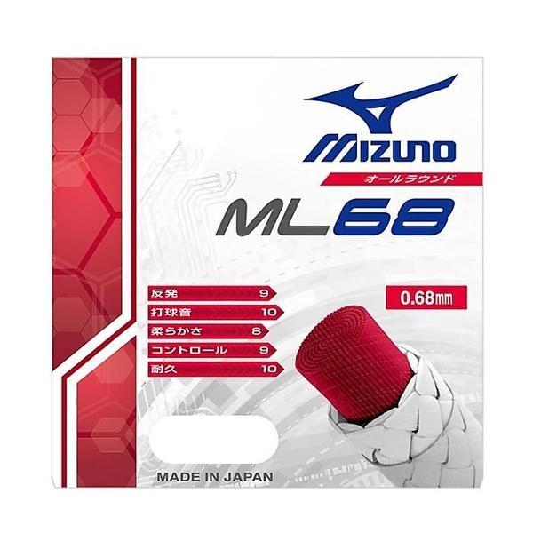 (セール)MIZUNO(ミズノ)バドミントン ストリングス ML68 73JGA60064 64:ピンク