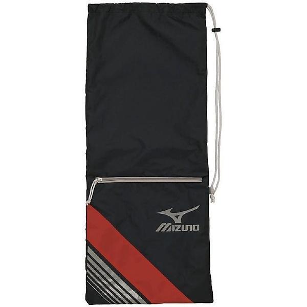MIZUNO(ミズノ)ラケットスポーツ バッグ ケース類 ラケットバッグ(2本入れ)63JD700409 メンズ 09 ブラックxレッド