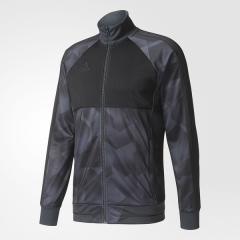 (送料無料)adidas(アディダス)サッカー ウォームアップ RENGI ニットジャケット MMI78 B46919 メンズ ブラック