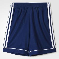 adidas(アディダス)サッカー ジュニアゲームパンツ KIDS SQUADRA 17 トレーニングショーツ BUJ10 BK4771 ボーイズ ダークブルー/ホワイト