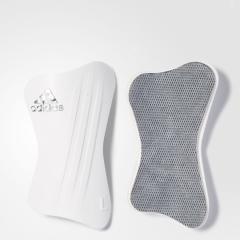 (セール)adidas(アディダス)サッカー シンガード マイクロフィットレガ JED89 BR1410 M ホワイト/ナイトメット F13