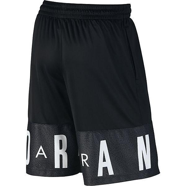 (セール)NIKE(ナイキ)バスケットボール メンズ プラクティスショーツ ジョーダン クラシック AJ ブロックアウト ショート 831338-010 メンズ ブラック/ブラック/(ホワイト)