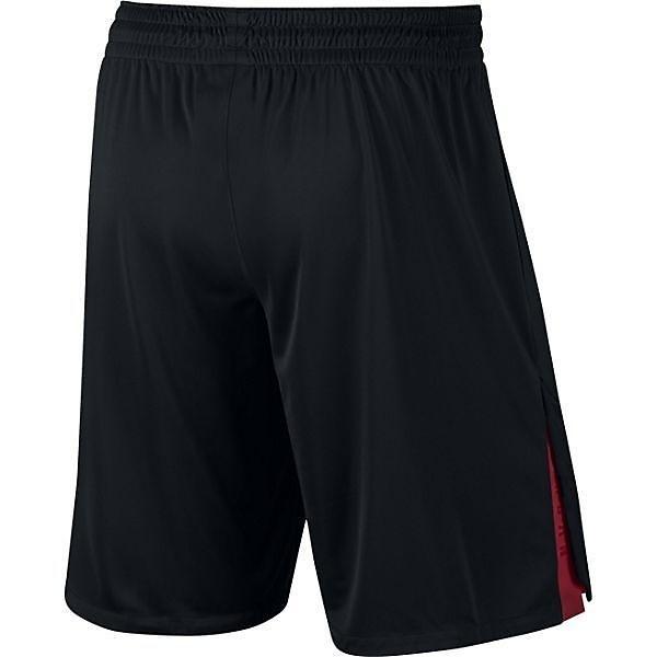 (セール)NIKE(ナイキ)バスケットボール メンズ プラクティスショーツ ジョーダン 23 テック ドライ ニット ショート 849143-010 メンズ ブラック/(ジムレッド)