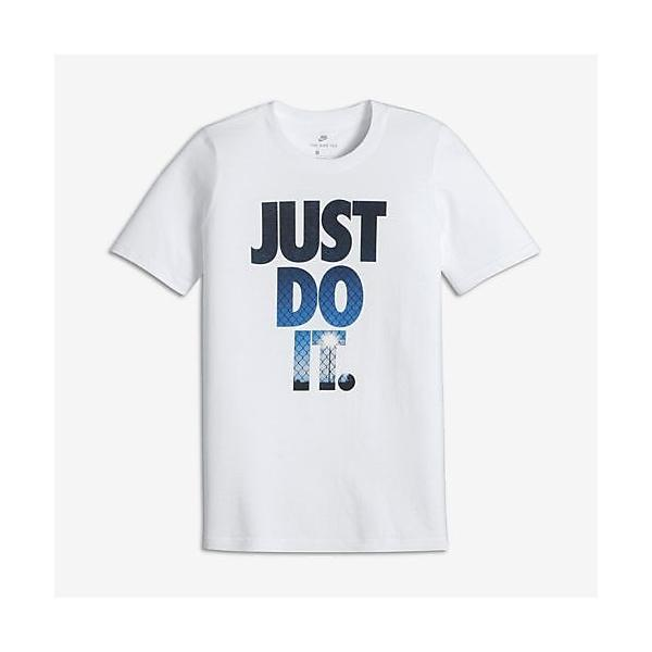 (セール)NIKE(ナイキ)バスケットボール ジュニア 半袖Tシャツ ナイキ YTH JDI ライト S/S Tシャツ 837983-100 ボーイズ ホワイト/(フォトブルー)
