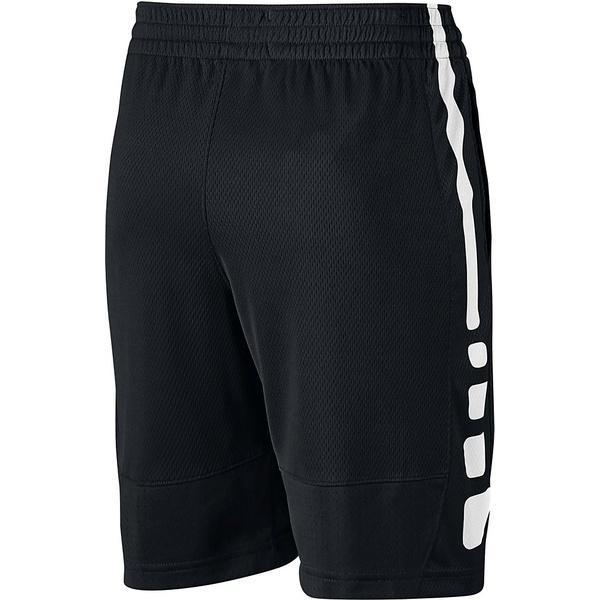 NIKE(ナイキ)バスケットボール ジュニア プラクティスショーツ ナイキ YTH エリート ストライプ ショート 850877-010 ボーイズ ブラック/ブラック/ブラック/(ホワイト)