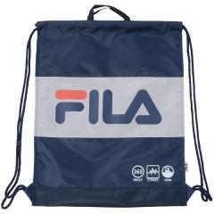 <LOHACO> (セール)FILA(フィラ) スイミング プールバック 巻きタオル FILAナップサック 127530 ジュニア F NV画像