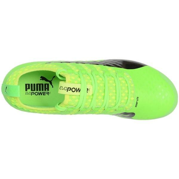 (セール)(送料無料)PUMA(プーマ)サッカー スパイク K)エヴォパワー VIGOR 1 HG 10382501 メンズ グリーン ゲッコ/ブラック/セーフティ イエロー