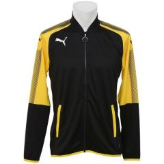 (セール)PUMA(プーマ)サッカー ウォームアップ ASCENSION トレーニングジャケット 65526102 メンズ サイバー イエロー/ブラック