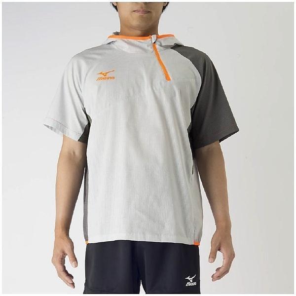 (セール)MIZUNO(ミズノ)バレーボール ウェア ブレーカーシャツ V2MC700104 ベイパーシルバー