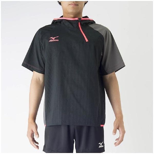 (セール)MIZUNO(ミズノ)バレーボール ウェア ブレーカーシャツ V2MC700109 ブラック