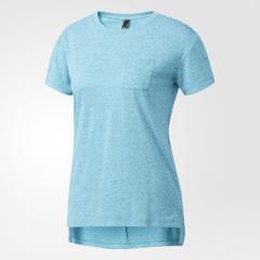 (セール)adidas(アディダス)レディーススポーツウェア Tシャツ W ID ライトヘザー半袖TEE DMW45 BQ6607 レディース ラブグリーン F12/ラブグリーン F12