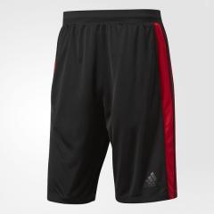 (セール)adidas(アディダス)メンズスポーツウェア ショートパンツ D2M トレーニング3ストライプスショーツ MLS42 BQ3185 メンズ ブラック/スカーレット