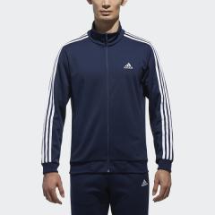 <LOHACO> adidas(アディダス)メンズスポーツウェア ウォームアップジャケット M ESSENTIALS 3ストライプス ジャージ DJP56 BR1131 メンズ カレッジネイビー/ホワイト画像
