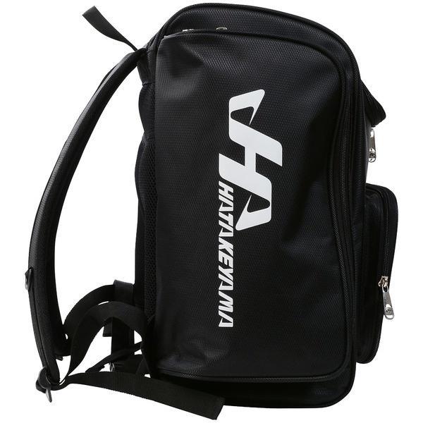 (送料無料)HATAKEYAMA(ハタケヤマ)野球 ジュニア 片手用右手 ナイロンバッグパック BA-500N ブラック