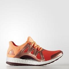 (セール)(送料無料)adidas(アディダス)ランニング レディースランニングシューズ PUREBOOST XPOSE KEK89 BB1731 レディース エナジー S17/グローオレンジ S14/マルーン