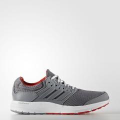 (セール)adidas(アディダス)ランニング メンズジョギングシューズ GALAXY 3 KDV76 BB4362 メンズ グレー/グレー/コアレッド S17
