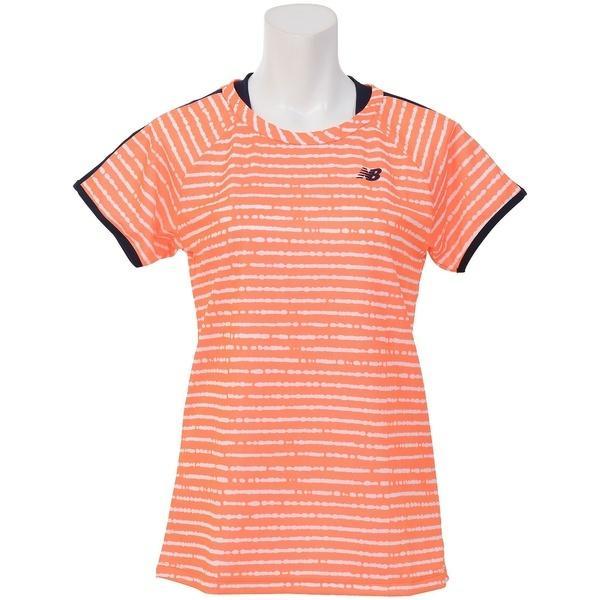 387ae821f771 セール)New Balance(ニューバランス)ラケットスポーツ レディースアパレル レイヤード風ゲームシャツ