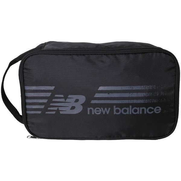 (セール)New Balance(ニューバランス)ラケットスポーツ バッグ ケース類 テニスシューズバッグ JABT7159BK メンズ F ブラック